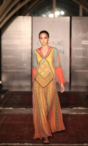 A piece from Tarun Tahiliani's SummerResort collection at Lakme Fashion Week 2013