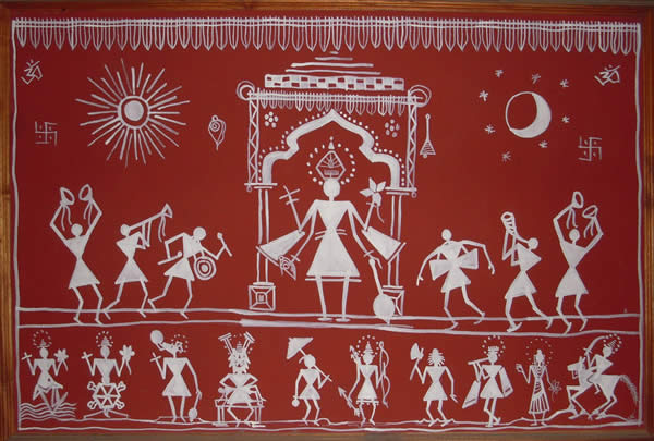 An insight into the world of Warli – Eminent Craft Book